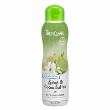 Кондиционер для кошек и собак TropiClean «Lime & Cocoa Butter» (Лайм и масло какао) 355 мл