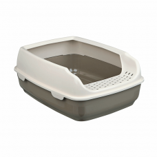 Туалет для кошекDelio с высокой рамкой 35*20*48см