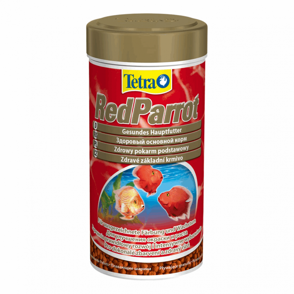 Tetra Red Parrot  1L  корм для кр. попуг.