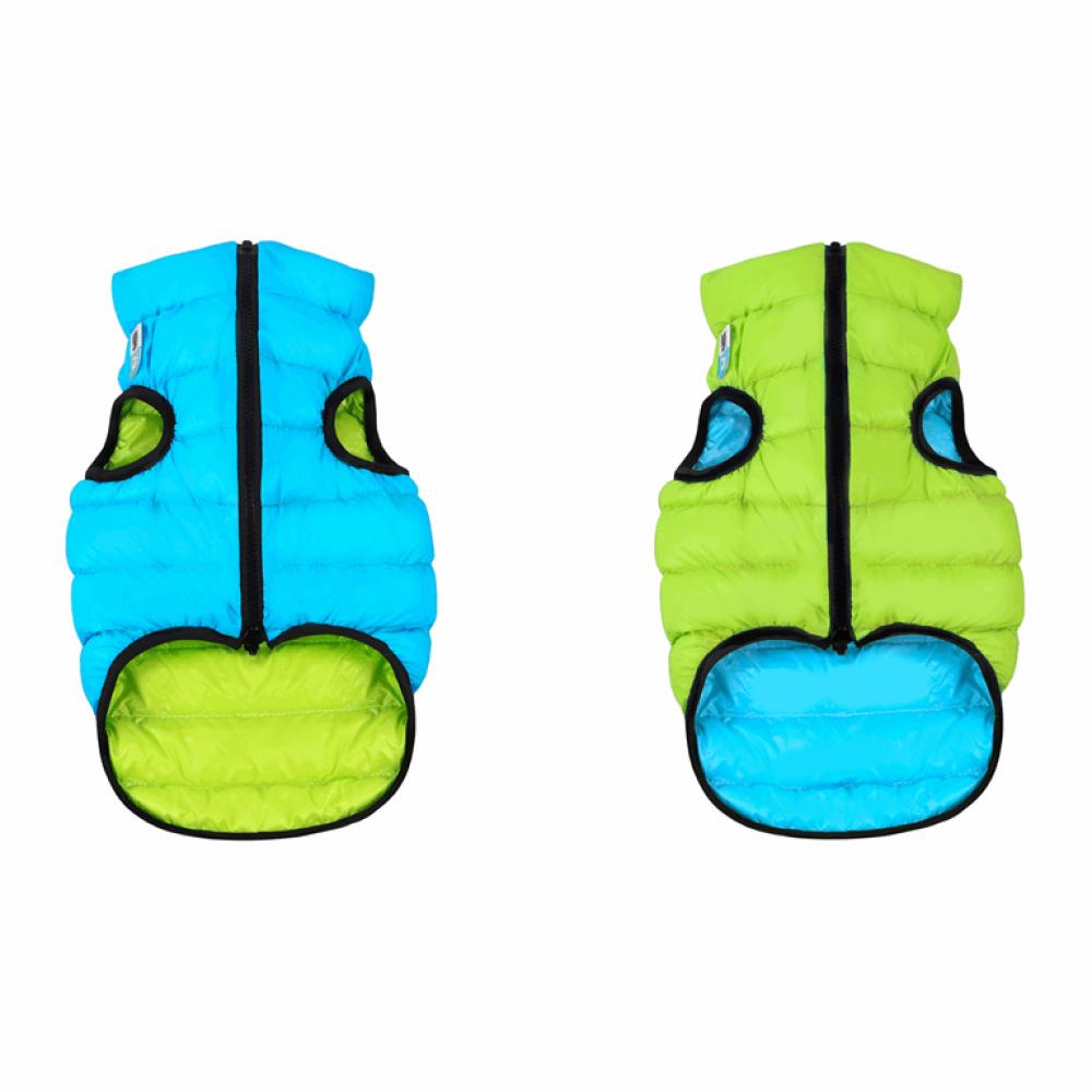 Жилетка для собак Collar «Airy Vest» S 35 см (голубая / зелёная)