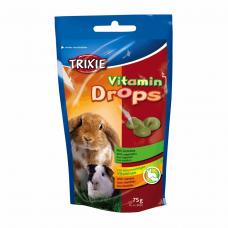 Витамины для грызунов Drops 75гр овощ