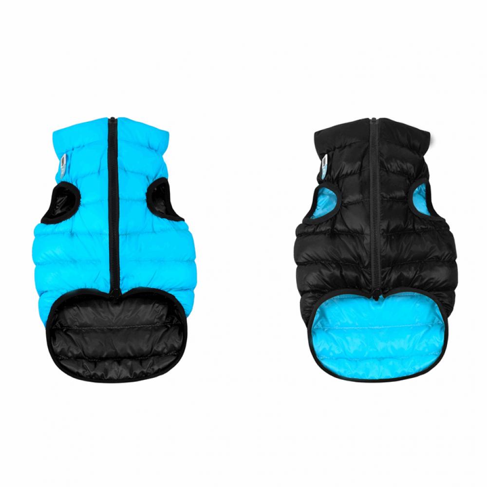 Жилетка для собак Collar «Airy Vest» M 47 см (голубая / чёрная)