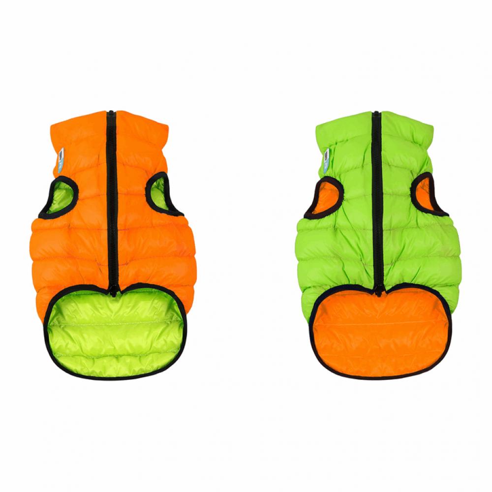 Жилетка для собак Collar «Airy Vest» S 35 см (оранжевая / зелёная)