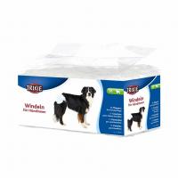 Памперсы-подгузники для собак M (12шт)