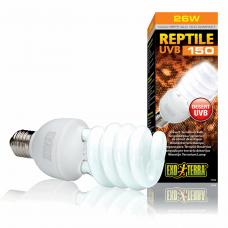 Компактная люминесцентная лампа Exo Terra «Reptile UVB 150» для облучения лучами УФ-В спектра 26 W, E27 (для облучения)
