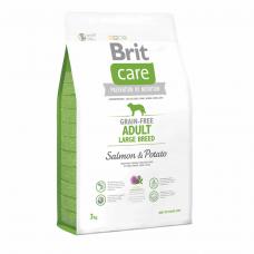 Brit Care GF Adult Large Breed Salmon & Potato 3 kg (д/собак весом от 25 кг)
