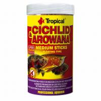 Cichlid &Arowana Medium Sticks 250ml/90g