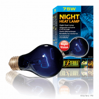 Лампа ночная А19/75W д/террар