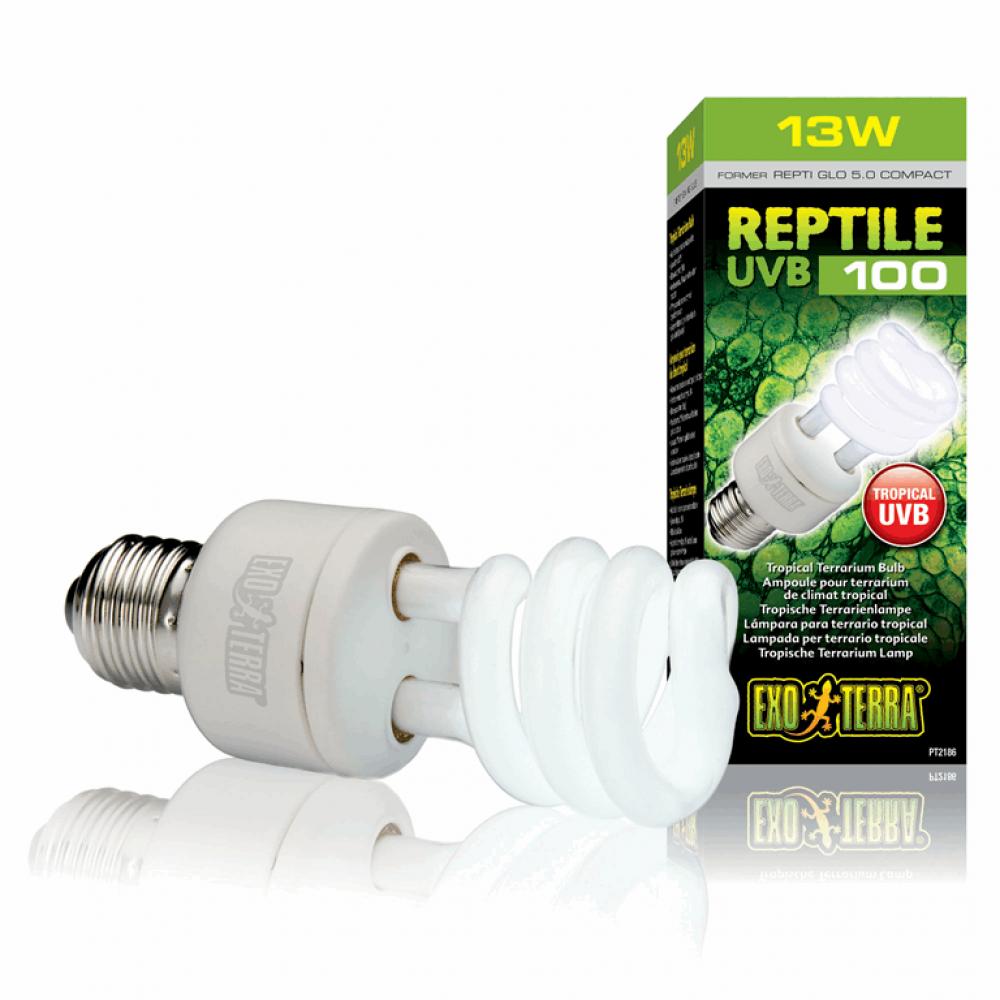 Лампа REPTI GLO 5.0/13W=UVB100   Е27