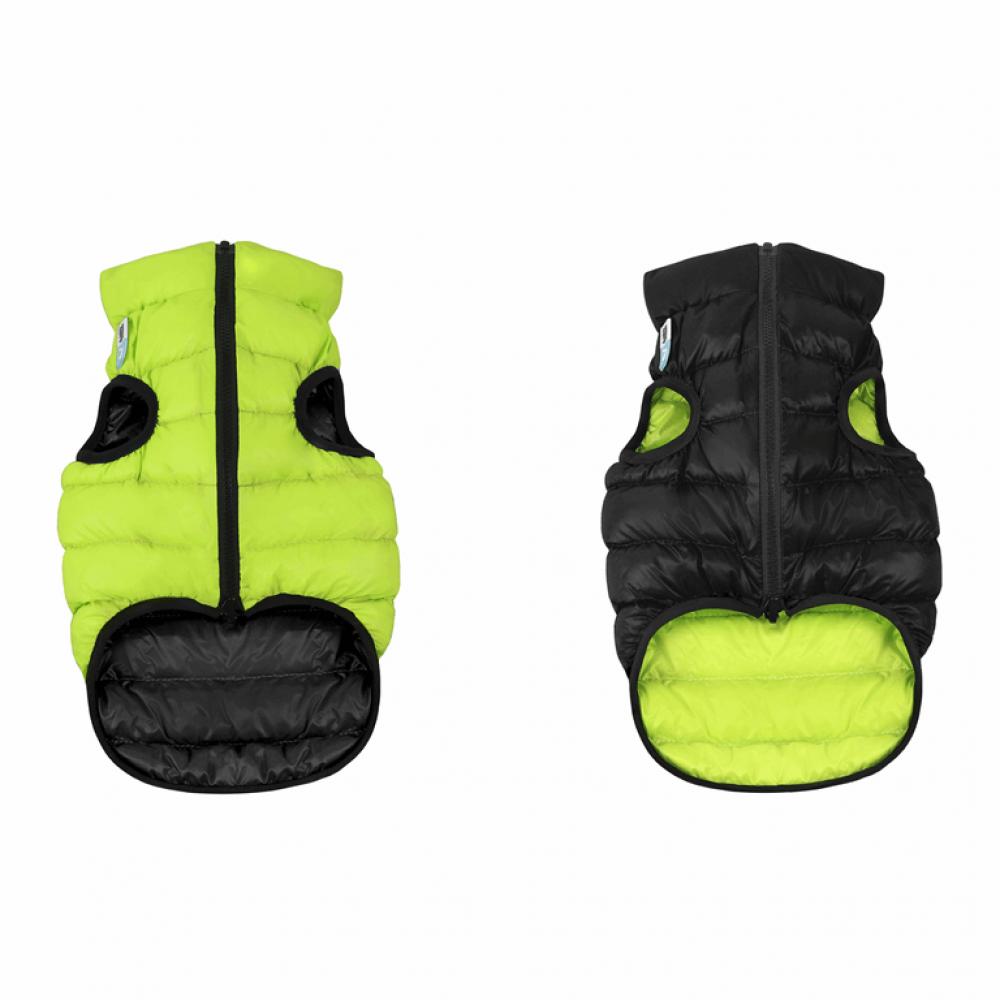 Жилетка для собак Collar «Airy Vest» S 35 см (зелёная / чёрная)