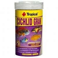 Cichlid Gran 100ml /55g гранул.корм д/цихлид, усил.цвета
