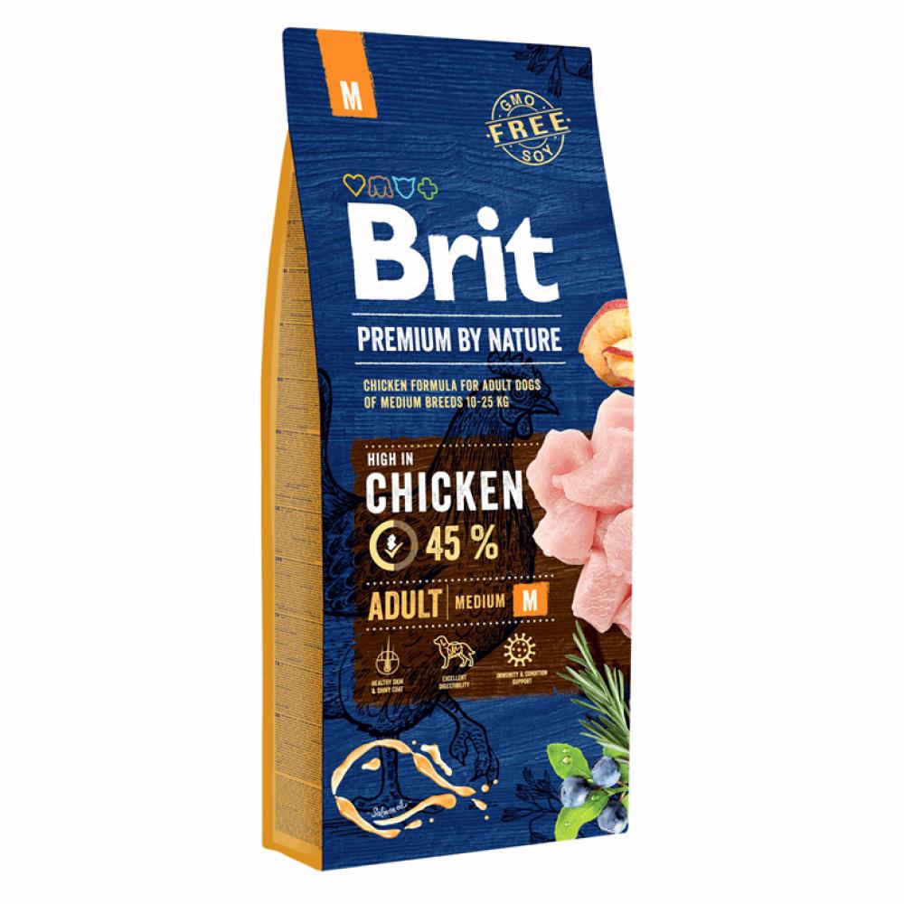 Brit Premium Dog Adult M 15 kg