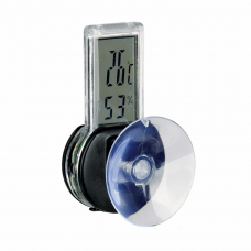 Термометр-гигрометр электр. на присоске д/террариума