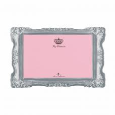 """Коврик \My Princess\"""" под миски розовый 44*28см"""""""""""""""