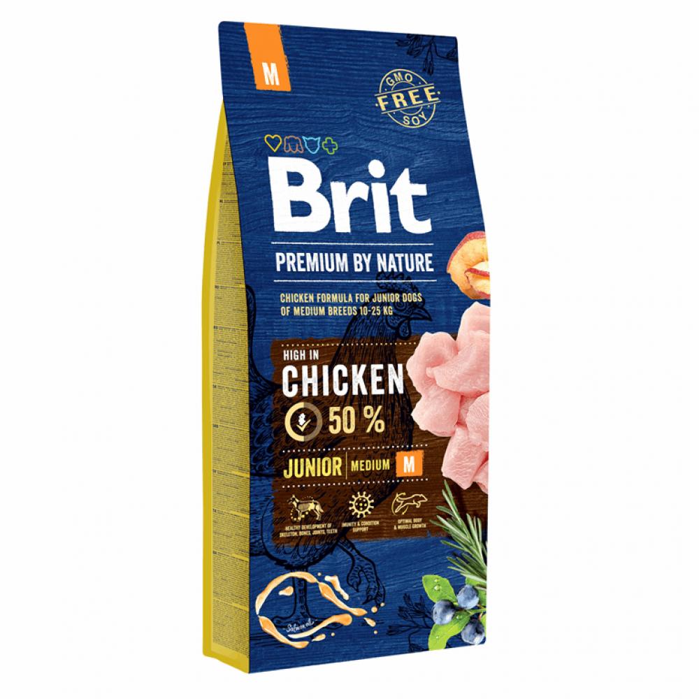 Brit Premium Dog Junior M 15 kg