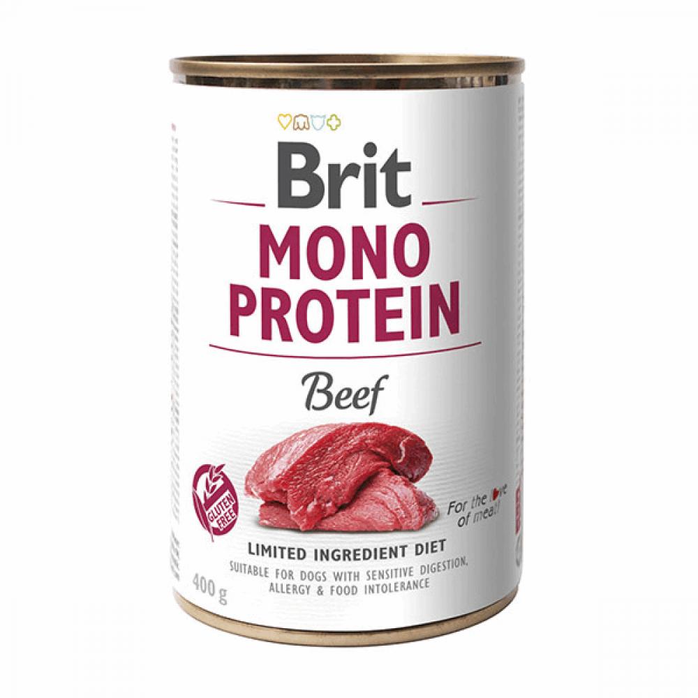 Brit Mono Protein Dog k 400 g с говядиной