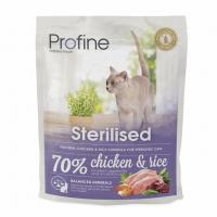 Profine Cat Sterilised 300g курица и рис д/кастриров.