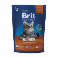 Brit Premium Cat Indoor 1,5 kg (д/ кошек, живущих в помещении)