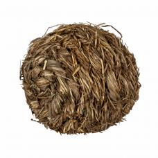 Шарик травяной со звонком 10см