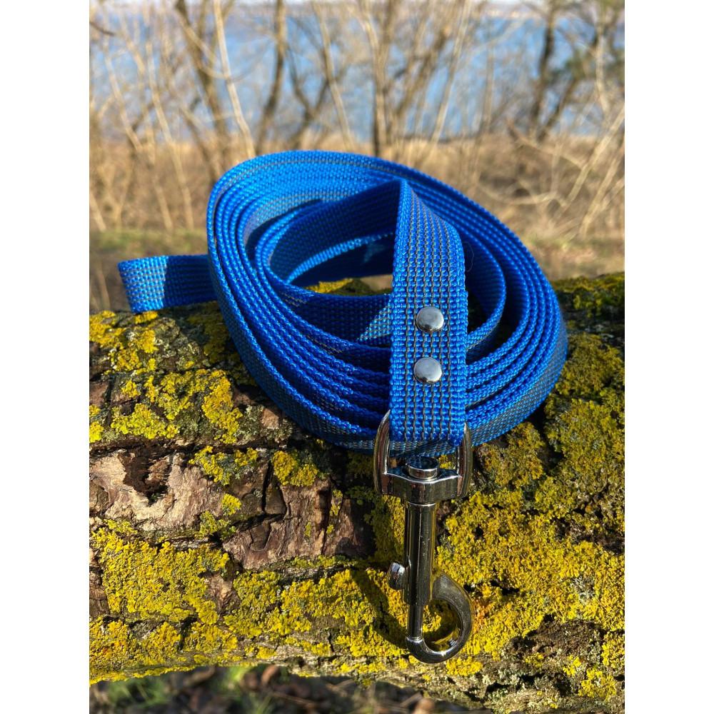 Поводок из прорезиненной стропы непромокаемый и антискользящий 15-20-25 мм