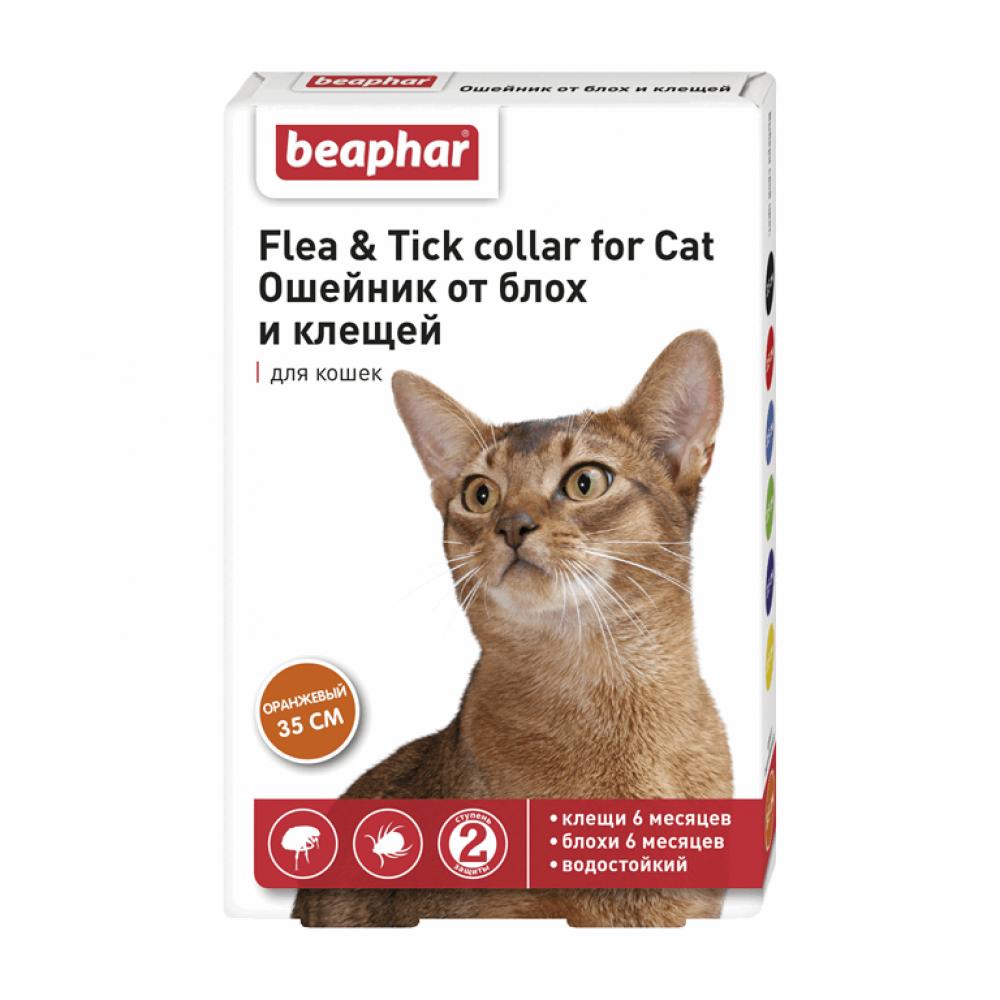 Ошейник от блох и клещей для кошек Beaphar