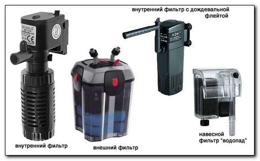 Какой фильтр для аквариума лучше внешний или внутренний ?