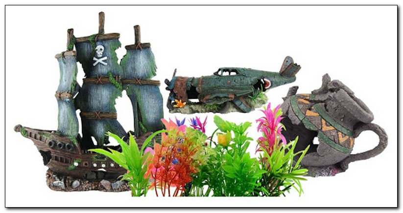 Декорации, грунты и растения